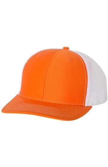 Richardson 112 Orange / White
