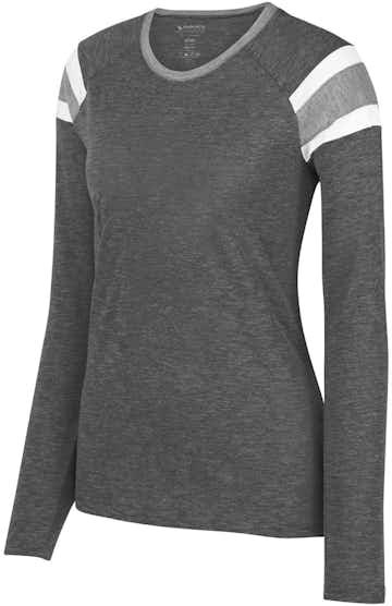 Augusta Sportswear 3012 Slt/ Ath Hth/ Wh