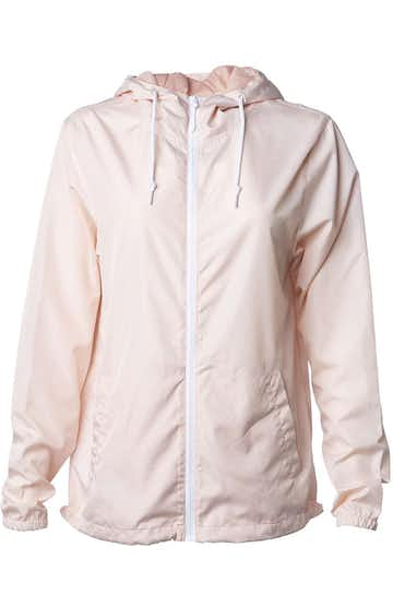 Independent Trading EXP54LWZ Blush / White Zipper