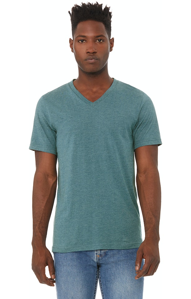 Bella + Canvas 3005 Heather Deep Teal