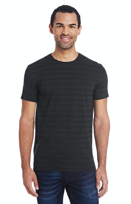 Threadfast Apparel 152A Blck Invsbl Strp