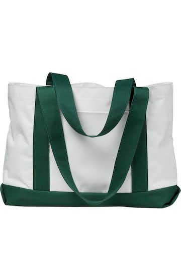 Liberty Bags 7002 White/Forest