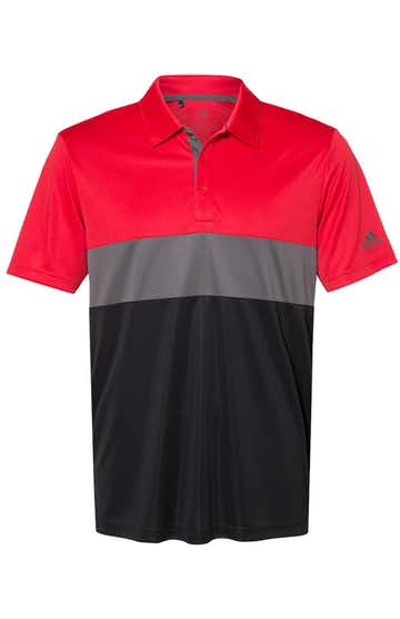 Adidas A236 Collegiate Red/ Grey Five/ Black