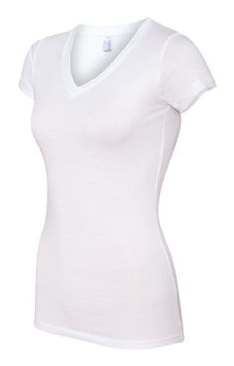 e88ac907 Next Level 3400L Ladies' Perfect Sporty V - JiffyShirts.com