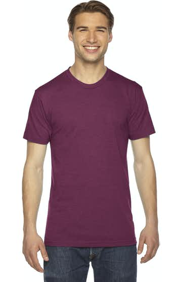 American Apparel TR401 Triblend Cranberry