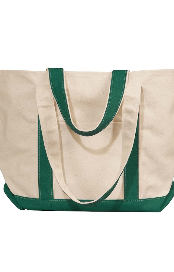 Liberty Bags 8871 Natural/Forest