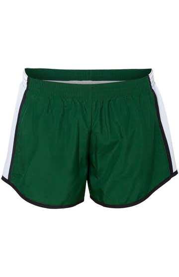 Augusta Sportswear 1265 Dark Green/White/Black