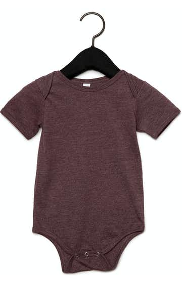 Bella + Canvas 100B Heather Maroon