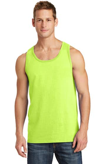 Port & Company PC54TT Neon Yellow