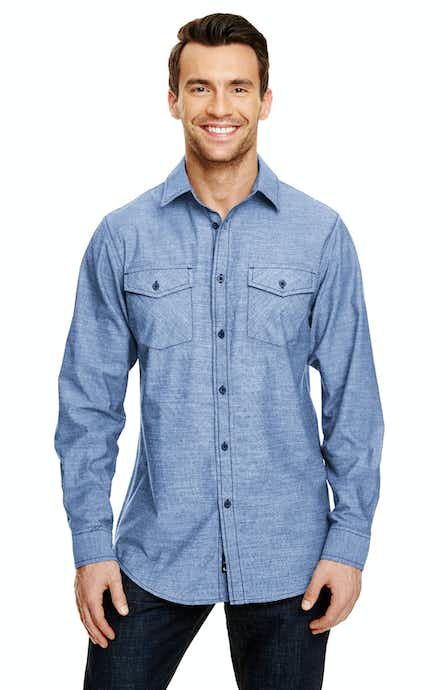 Burnside B8255 Light Denim