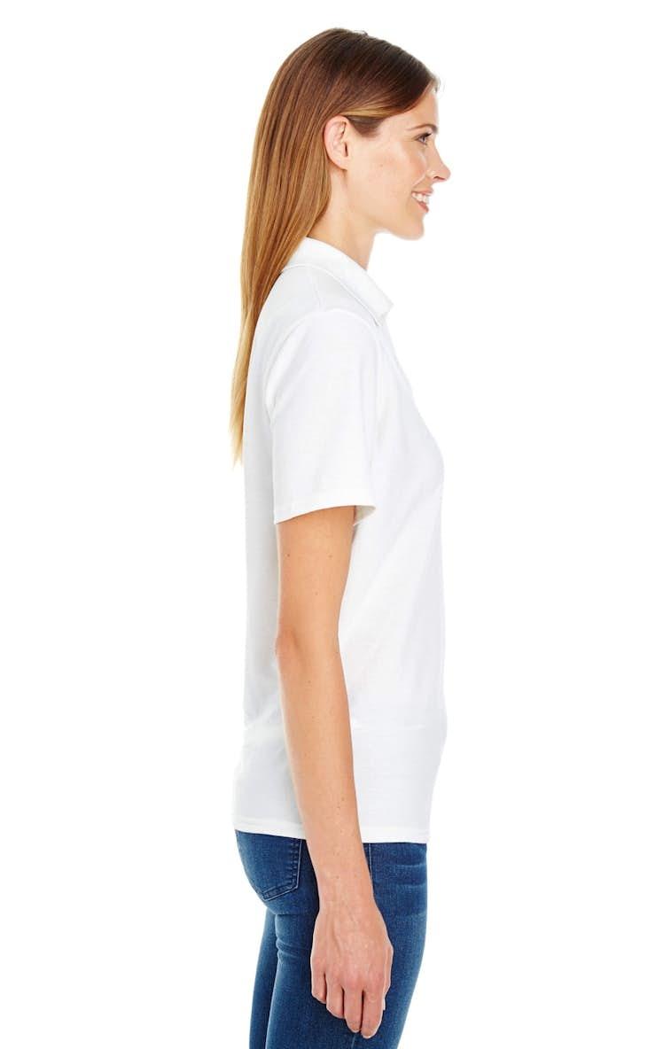 4a487ca4b Hanes 035P Ladies  6.5 oz. X-Temp® Piqué Short-Sleeve Polo with ...