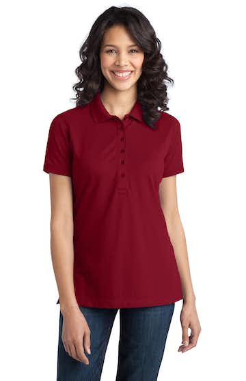 Port Authority L555 Chili Red