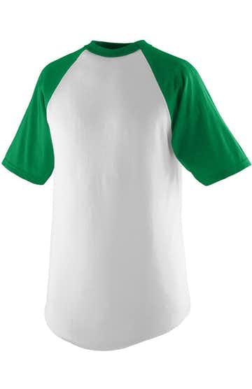 Augusta Sportswear 424 White / Kelly