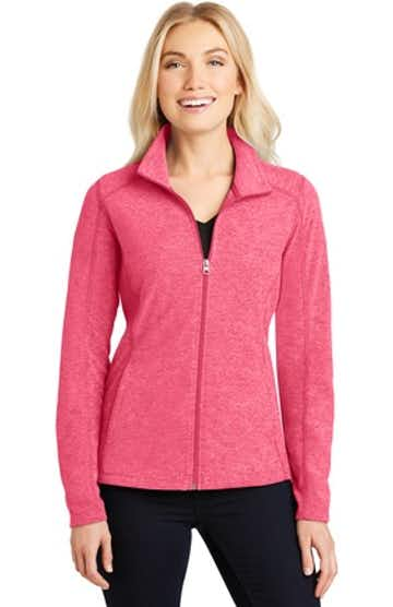 Port Authority L235 Pink Rasp Heather