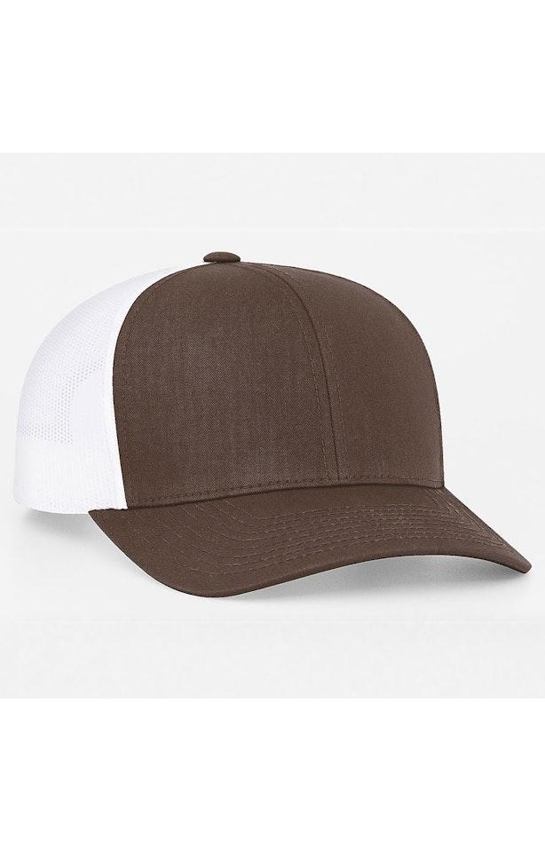 Pacific Headwear 0104PH Brown/White