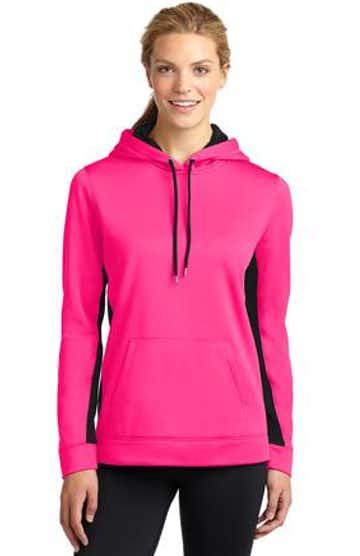 Sport-Tek LST235 Neon Pink / Black