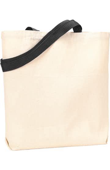 Liberty Bags 9868 Natural/Black