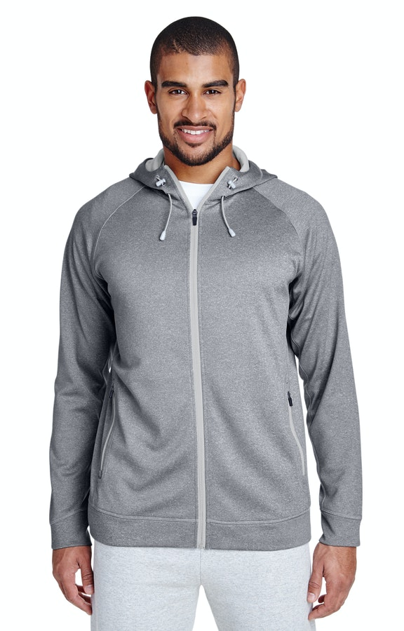 Team 365 TT38 Athletic Heather/Sport Silver