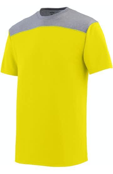 Augusta Sportswear 3055 Pwr Ylw/ Grp Hth