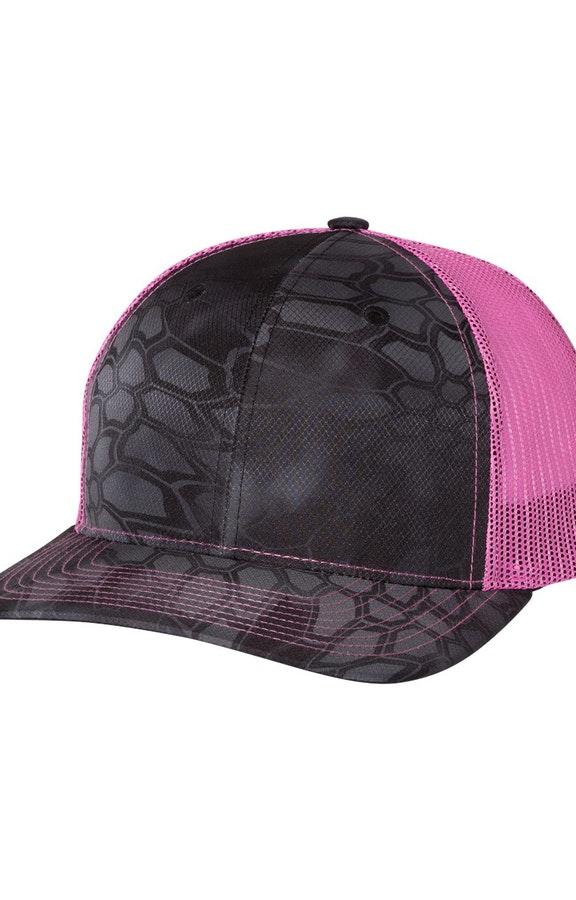 Richardson 112P Kryptek Typhon/ Neon Pink