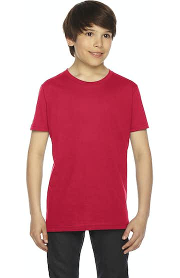 American Apparel 2201W Red