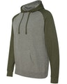 Independent Trading IND40RPJ1 Gunmetal Heather / Army Heather