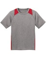 Sport-Tek YST361 Vintage Heather / True Red