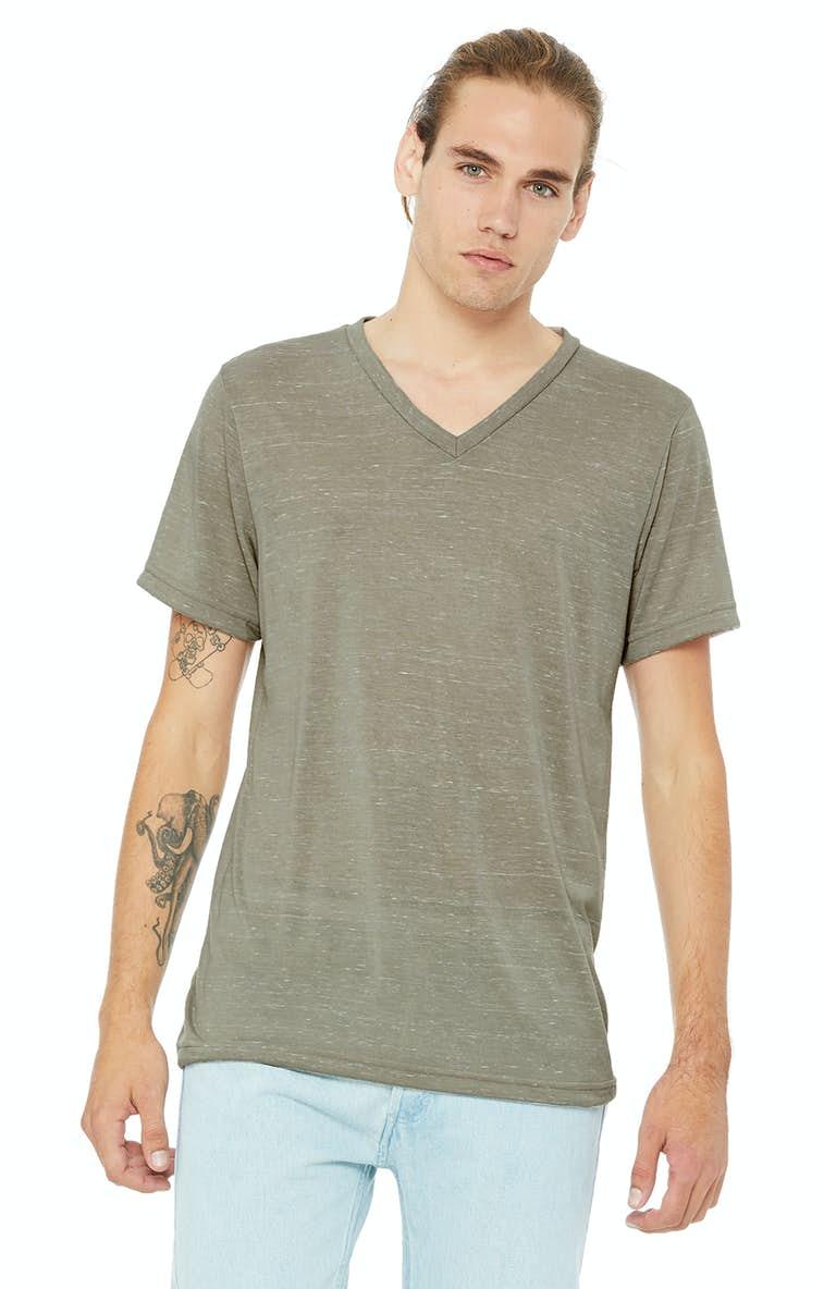 e40627e6 Bella+Canvas 3005 Unisex Jersey Short-Sleeve V-Neck T-Shirt -  JiffyShirts.com