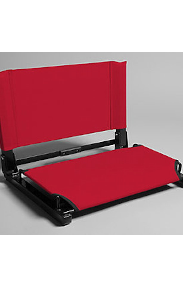 The Stadium Chair WSC2 BACK Red - Fabric back