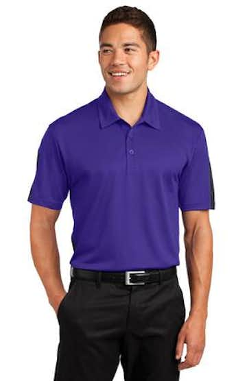 Sport-Tek ST695 Purple / Gray