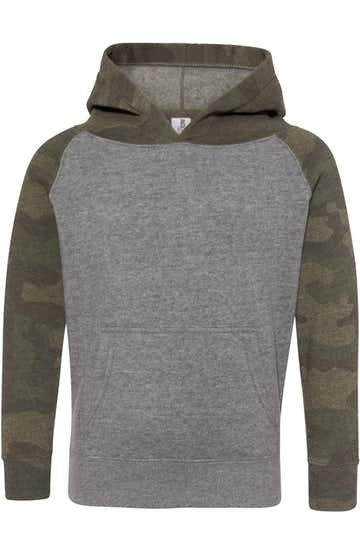Independent Trading PRM10TSB Nickel Heather / Forest Camo