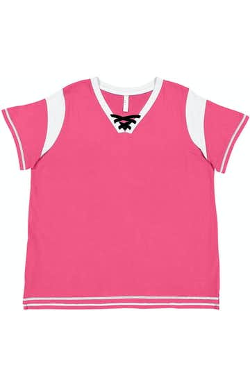 LAT (SO) 3833 Heather Pink / White / Black