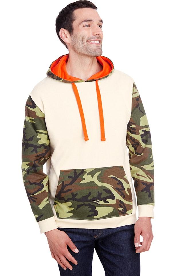 Code Five 3967 Natrural / Green Wd / Orange
