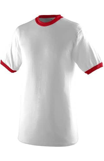 Augusta Sportswear 711 White / Red