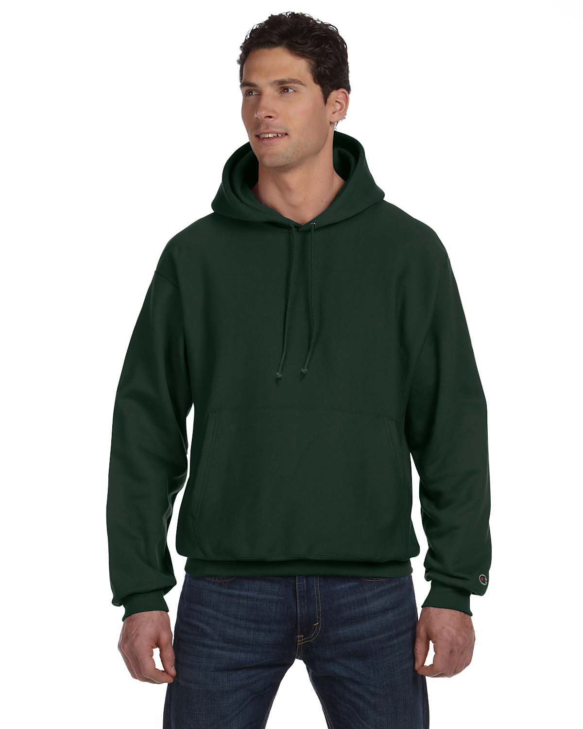 cae934e4 Champion S1051 Adult Reverse Weave® 12 oz. Pullover Hood ...