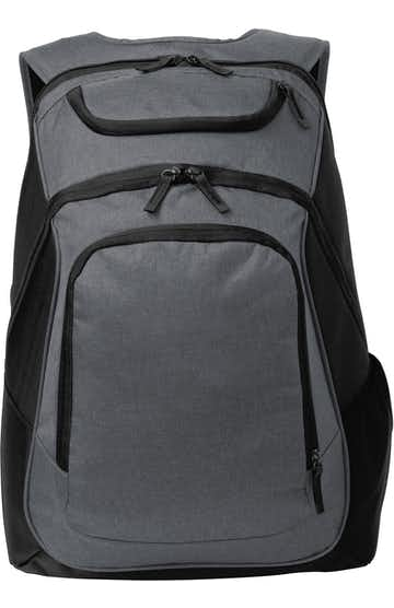 Port Authority BG223 Graphite Heather / Black