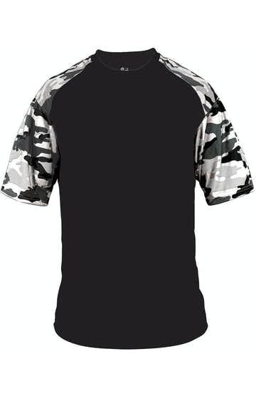 Badger 4141 Black / White Camo