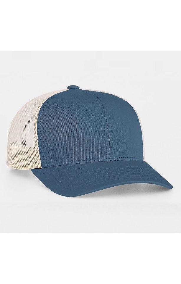 Pacific Headwear 0104PH Ocean Blue / Beige