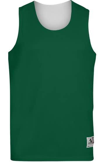 Augusta Sportswear 149 Dark Green / White
