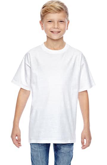 Hanes 498Y White