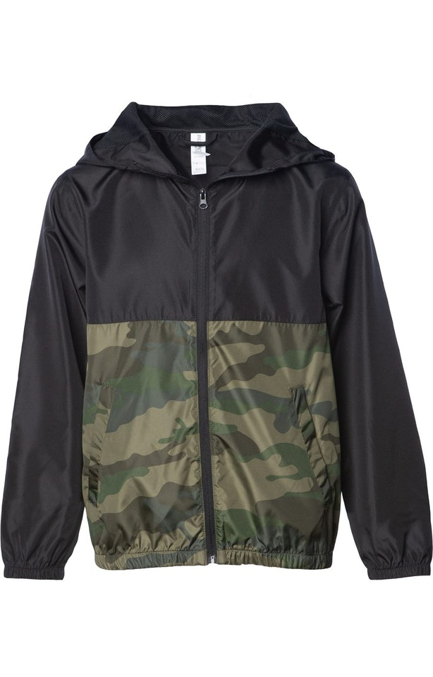 Independent Trading EXP24YWZ Black / Forest Camo