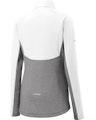 Sport-Tek LST854 White / Ch Gray Heather