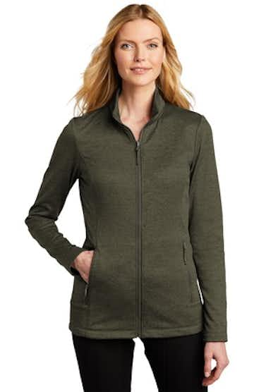 Port Authority L905 Deep Olive Heather