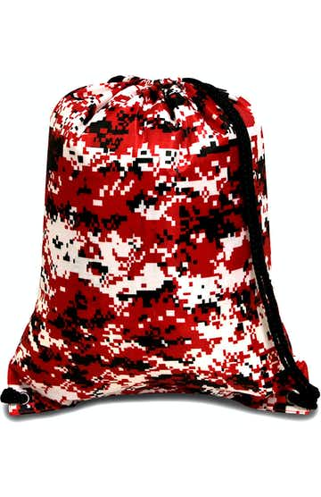 Liberty Bags 8881 Digital Camo Red