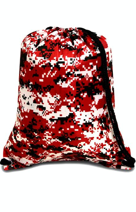 Liberty Bags 8881 Digital Camo Red