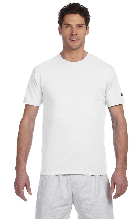 360a03135 Champion T525C Adult 6 oz. Short-Sleeve T-Shirt - JiffyShirts.com