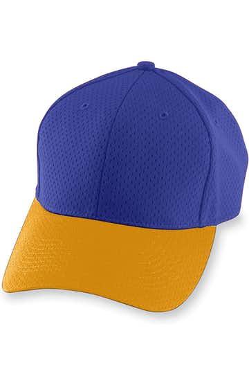 Augusta Sportswear 6235 Purple / Gold