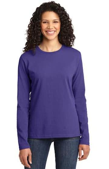 Port & Company LPC54LS Purple