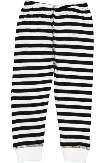 Rabbit Skins 102Z Black & White Stripe