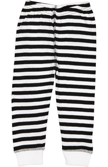 Rabbit Skins 102Z Black & White Stripe